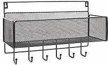Infinite Node Wall Floating Shelf, Sturdy Metal