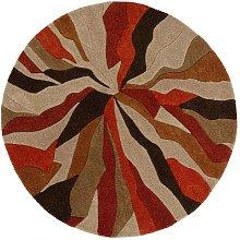 Infinite Splinter Orange Circle 135cm Diameter