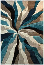 Infinite Splinter Teal Abstract 200x290cm