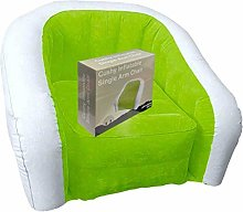 INFLATABLE CHAIR OUTDOOR CAMPING GAMING LOUNGER