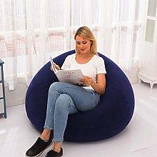 Inflatable Chair Sofa, Folding Bean Bag Shape Blow