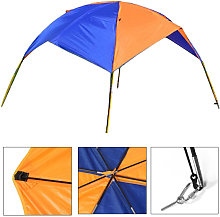 Inflatable Fishing Boat Tent Sun Shelter for 2