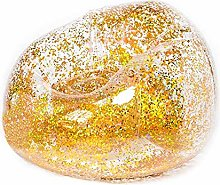 Inflatable Gold Holographic Glitter Chair -