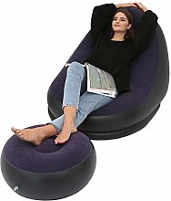 Inflatable Lazy Sofa, 45.7 x 37.8 x 32.7inch