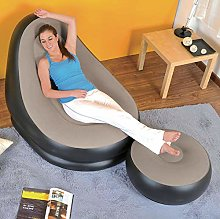 Inflatable Lazy Sofa, Family Lounge Chair with