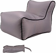 Inflatable Lazy Sofa with Storage Bag, Inflatable