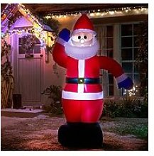 Inflatable Light Up Santa Outdoor Christmas
