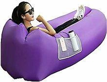 Inflatable Lounger Air Sofa Hammock, Portable