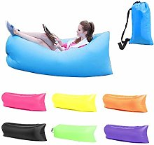 Inflatable Lounger Air Sofa Waterproof for 2-3
