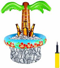 Inflatable Palm Tree Cooler With Inflator Summer