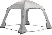 Inflatable Party Tent Air Gazebo 365x365 cm Grey -