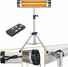 Infrared Radiant Heater 2500 W Electric Indoor