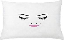 Ingiald Eyelash Pink Lips Makeup Beauty Outdoor