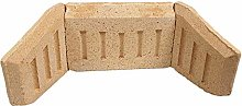 Inglenook Fire Brick Set - Coal & Log Saver 18