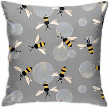 INGXIANGANCHI Nobranded Bubble Bee Patterned Zip