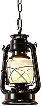 Injuicy Kerosene Pendant Lights, Vintage Metal &