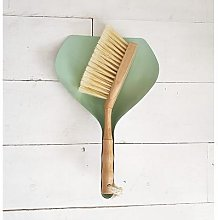 Inle Home - Bamboo and Metal Dustpan & Brush