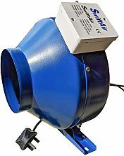 Inline Centrifugal Duct Plug Extractor Hydroponics