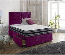 Inman Upholstered Divan Bed and Headboard Rosdorf