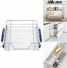 INMOZATA 3 x Pull Out Kitchen Storage Larder Slide