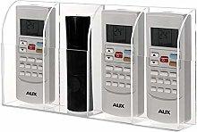 INMOZATA Acrylic Transparent Remote Control Holder