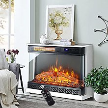 INMOZATA Electric Fire with Surround Freestanding