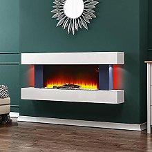 INMOZATA WIFI Electric Fireplace Wall Mounted