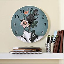 Inner Garden Printed PVC Wall Clock Modern Design
