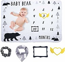 InnooCare Baby Blanket Boy - Baby Photo Blanket