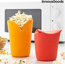 InnovaGoods Collapsible Silicone Popbox Popcorn