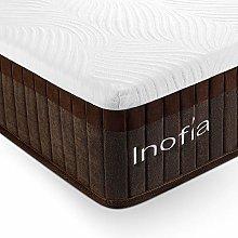 Inofia Mattresses 29cm Memory Foam Spring Hybrid