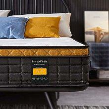 Inofia Sleep 4FT6 Double Mattress,25cm Pocket