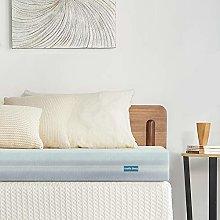 Inofia Sleep Mattress Topper,Gel Memory Foam