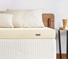 Inofia Sleep Memory Foam Mattress Topper,Indulgent