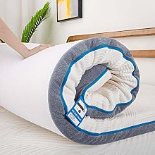 Inofia Sleep Memory Foam Mattress Topper Small