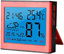 INRIGOROUS Digital Hygrometer Thermometer Alarm