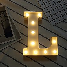 Ins Hot Sale 26 English Letter Lights Led Symbol