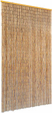 Insect Door Curtain Bamboo 100x200 cm - Brown