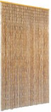 Insect Door Curtain Bamboo 100x220 cm - Brown -