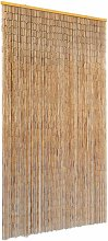 Insect Door Curtain Bamboo 100x220 cm - Brown