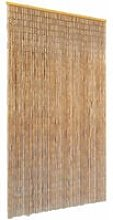 Insect Door Curtain Bamboo 120x220 cm - Brown -