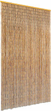 Insect Door Curtain Bamboo 120x220 cm - Brown