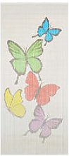 Insect Door Curtain Bamboo 90x200 cm - Multicolour