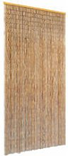 Insect Door Curtain Bamboo 90x220 cm - Brown -