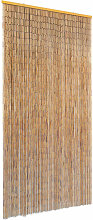 Insect Door Curtain Bamboo 90x220 cm - Brown