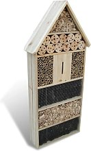 Insect Hotel XXL 50 x 15 x 100 cm - Brown