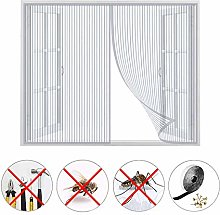 Insect Screen, Window Mesh Fly Curtain, Automatic
