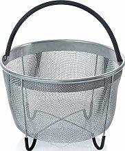 Insert Basket 6Qt Stainless Steel Steamer Basket