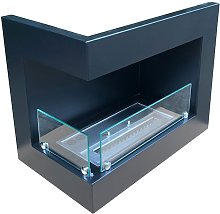 Insert for bio fireplace - left sided
