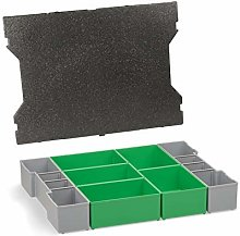 Inset Box Set Inserts Organizing System with Lid
